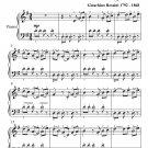 Cinderella Waltz Easy Piano Sheet Music PDF