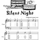 Silent Night Easiest Piano Sheet Music Tadpole Edition PDF