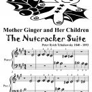 Mother Ginger and Her Children Nutcracker Suite Beginner Piano Sheet Musid Tadpole Edition PDF