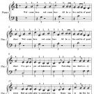 A Mince Pie Or a Pudding Easiest Piano Sheet Music PDF