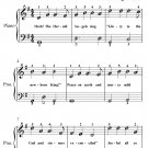 Hark the Herald Angels Sing Easiest Piano Sheet Music PDF