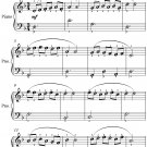 Come Back to Sorrento Easiest Piano Sheet Music PDF