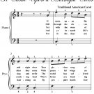 It Came Upon a Midnight Clear Easiest Piano Sheet Music PDF