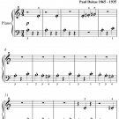 Sorcerers Apprentice Beginner Piano Sheet Music PDF