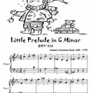 Little Prelude In C Minor Bwv 934 Easiest Piano Sheet Music Tadpole Edition PDF