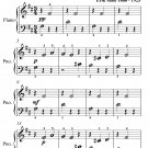 Gymnopedie Number 1 Beginner Piano Sheet Music PDF