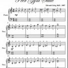 In the Hall of the Mountain King Peer Gynt Suite Easiest Piano Sheet Music PDF