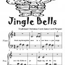 Jingle Bells Traditional Christmas Carol Beginner Piano Sheet Music Tadpole Edition PDF