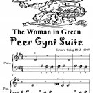 Woman in Green the Peer Gynt Suite Beginner Piano Sheet Music Tadpole Edition PDF
