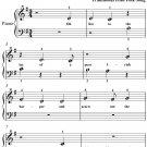 Bard of Armagh Beginner Piano Sheet Music