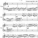 In the Hall of the Mountain King Beginner Piano Sheet Music PDF