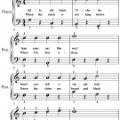 Jolly Old Saint Nicholas Easiest Piano Sheet Music PDF