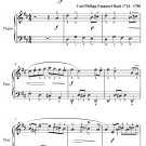 March In D Major Anna Magdalena Notebook Easy Piano Sheet Music PDF