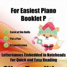 Petite Christmas for Easiest Piano Booklet P PDF