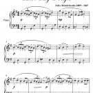 O For the Wings of a Dove Easy Piano Sheet Music PDF