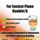 Petite Christmas for Easiest Piano Booklet B PDF