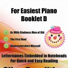 Petite Christmas for Easiest Piano Booklet D PDF