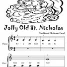 Jolly Old St Nicholas Beginner Piano Sheet Music Tadpole Edition PDF