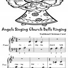 Angels Singing Church Bells Ringing Beginner Piano sheet Music Tadpole Edition PDF