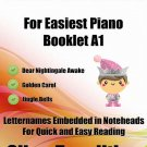Petite Christmas for Easiest Piano Booklet A1 PDF