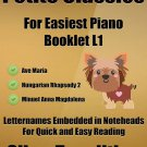Petite Classics for Easiest Piano Booklet L1 PDF
