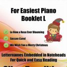 Petite Christmas for Easiest Piano Booklet L PDF
