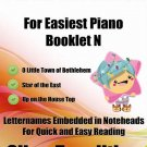 Petite Christmas for Easiest Piano Booklet N PDF
