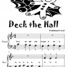 Deck the Hall Beginner Piano Sheet Music Tadpole Edition PDF