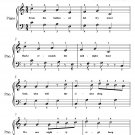From the Hallowed Belfry Tower Easy Piano Sheet Music PDF