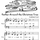 Gather Around the Christmas Tree Beginner Piano Sheet Music Tadpole Edition PDF