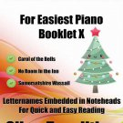 Petite Christmas for Easiest Piano Booklet X PDF