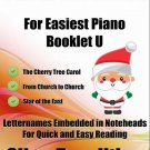 Petite Christmas for Easiest Piano Booklet U PDF