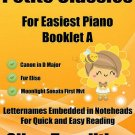 Petite Classics for Easiest Piano Booklet A PDF