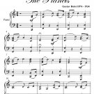 Jupiter the Planets Easy Intermediate Piano Sheet Music PDF