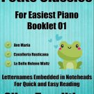 Petite Classics for Easiest Piano Booklet O1 PDF