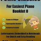Petite Classics for Easiest Piano Booklet O PDF
