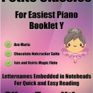Petite Classics for Easiest Piano Booklet Y PDF