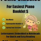 Petite Classics for Easiest Piano Booklet S PDF