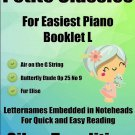 Petite Classics for Easiest Piano Booklet L PDF