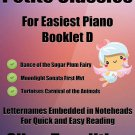 Petite Classics for Easiest Piano Booklet D PDF