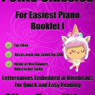 Petite Classics for Easiest Piano Booklet I PDF