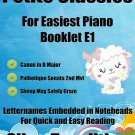 Petite Classics for Easiest Piano Booklet E1 PDF