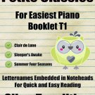 Petite Classics for Easiest Piano Booklet T1 PDF