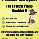 Petite Gospel for Easiest Piano Booklet H PDF