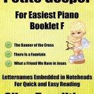 Petite Gospel for Easiest Piano Booklet F PDF