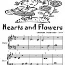 Hearts and Flowers Beginner Piano Sheet Music Tadpole Edition PDF