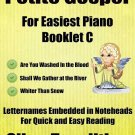 Petite Gospel for Easiest Piano Booklet C PDF