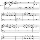 Come Back to Sorrento Beginner Piano Sheet Music PDF
