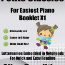 Petite Classics for Easiest Piano Booklet X1 PDF