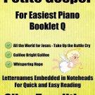 Petite Gospel for Easiest Piano Booklet Q PDF
